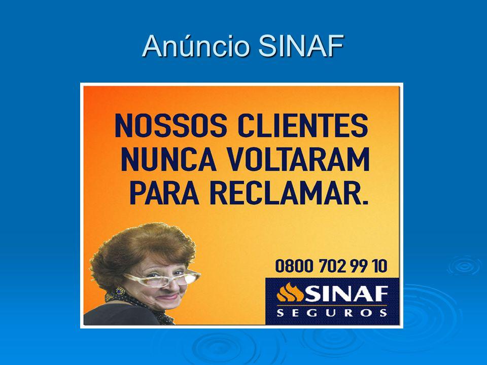 Anúncio SINAF