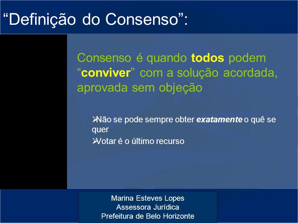 Definição do Consenso :