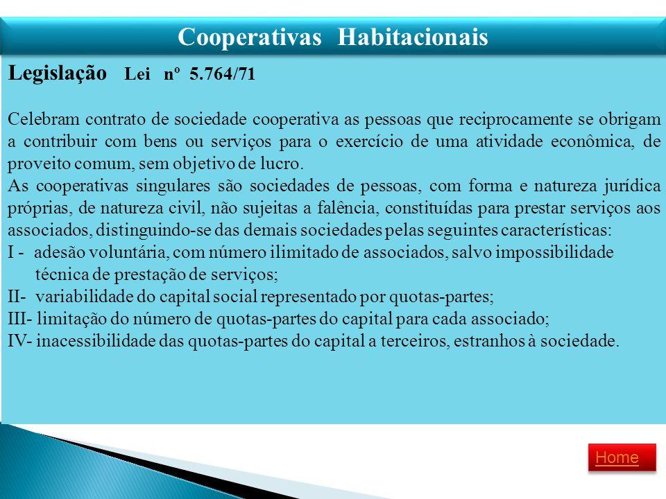 Cooperativas Habitacionais