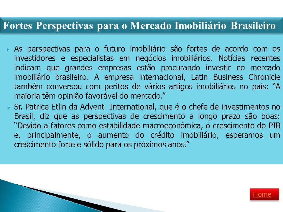 Fortes Perspectivas para o Mercado Imobiliário Brasileiro