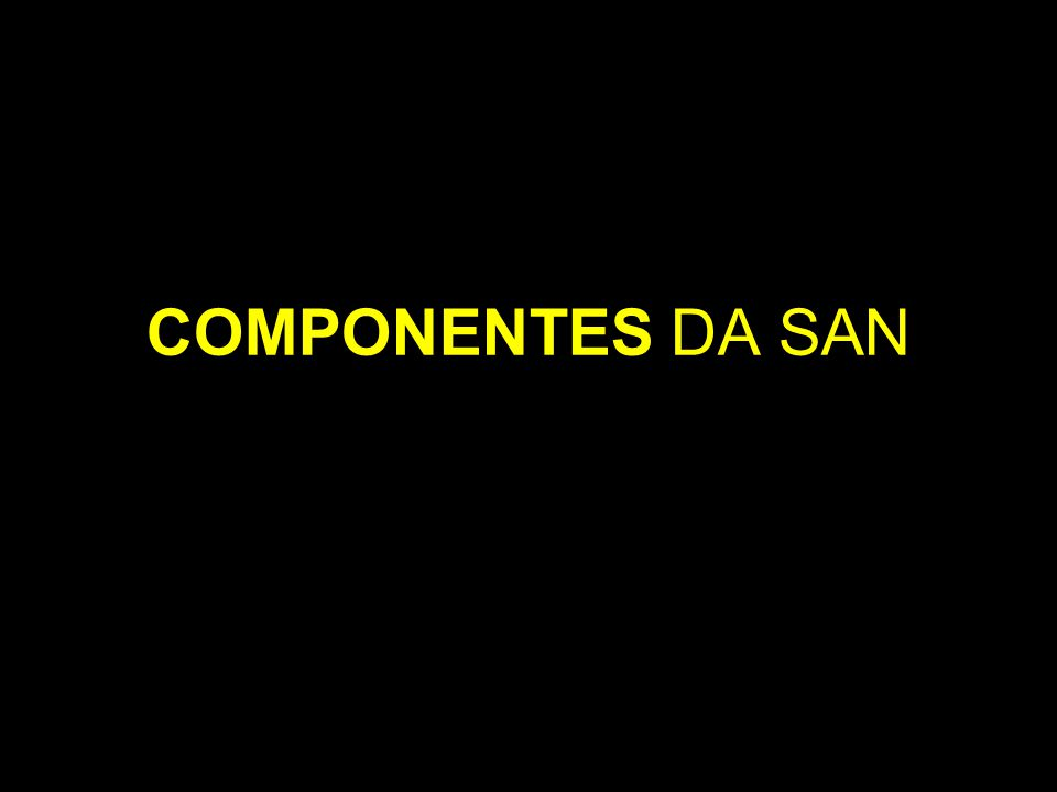 COMPONENTES DA SAN