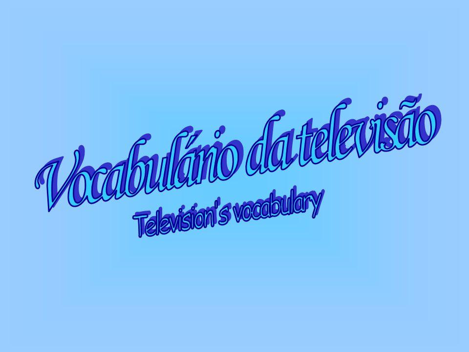 Vocabulário da televisão