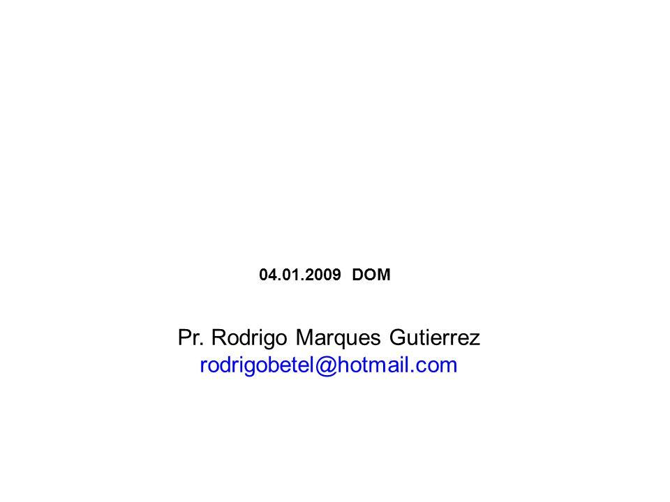 Pr. Rodrigo Marques Gutierrez