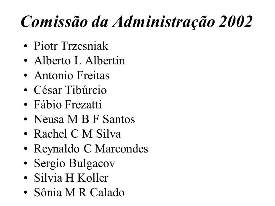 Comissão da Administração 2002