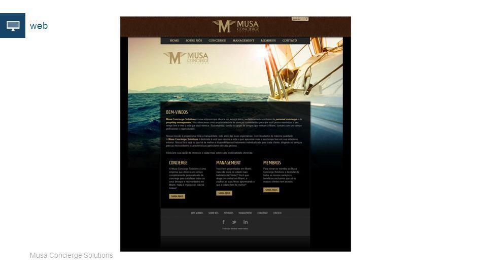 web Musa Concierge Solutions