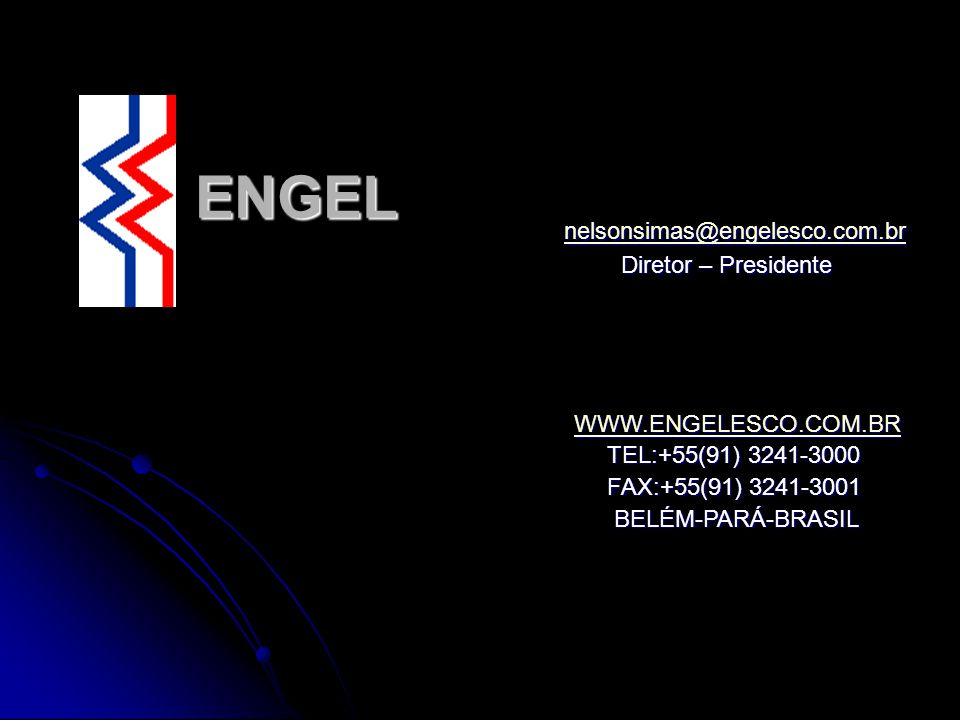 ENGEL nelsonsimas@engelesco.com.br