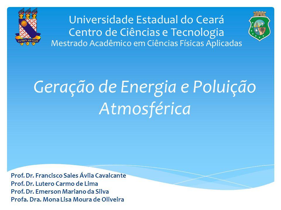 Geração de Energia e Poluição Atmosférica