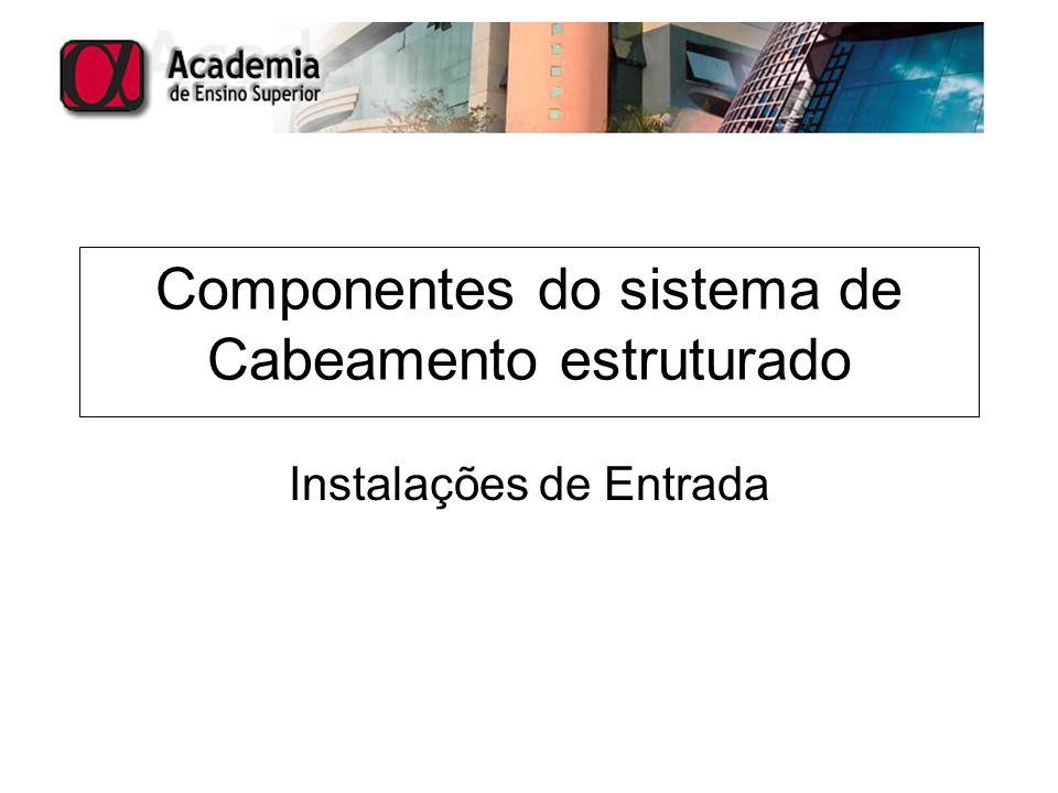 Componentes do sistema de Cabeamento estruturado