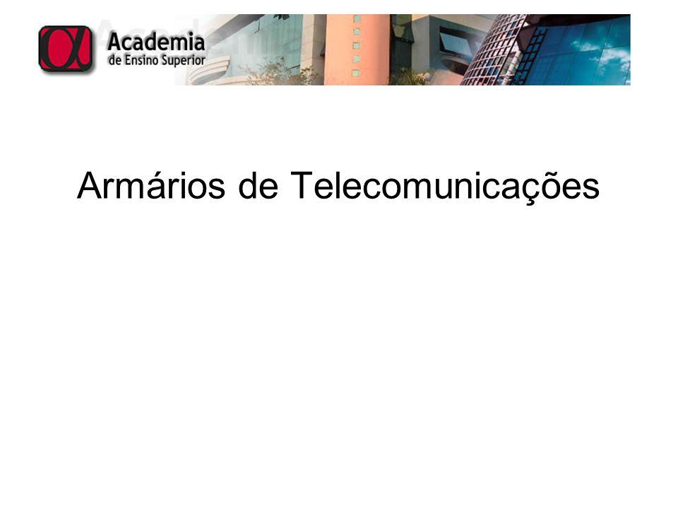 Armários de Telecomunicações