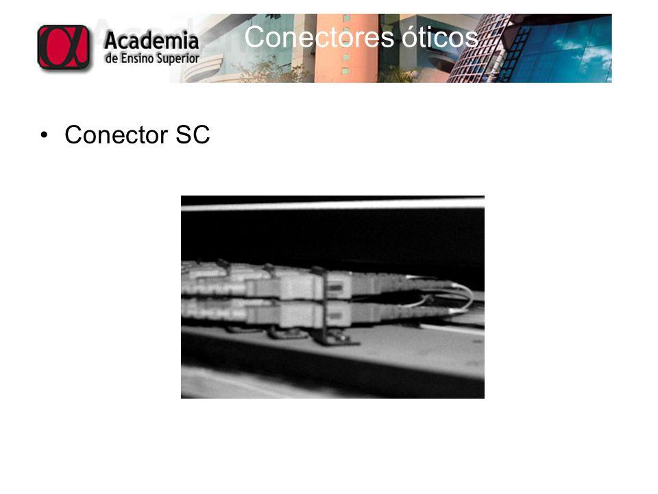 Conectores óticos Conector SC