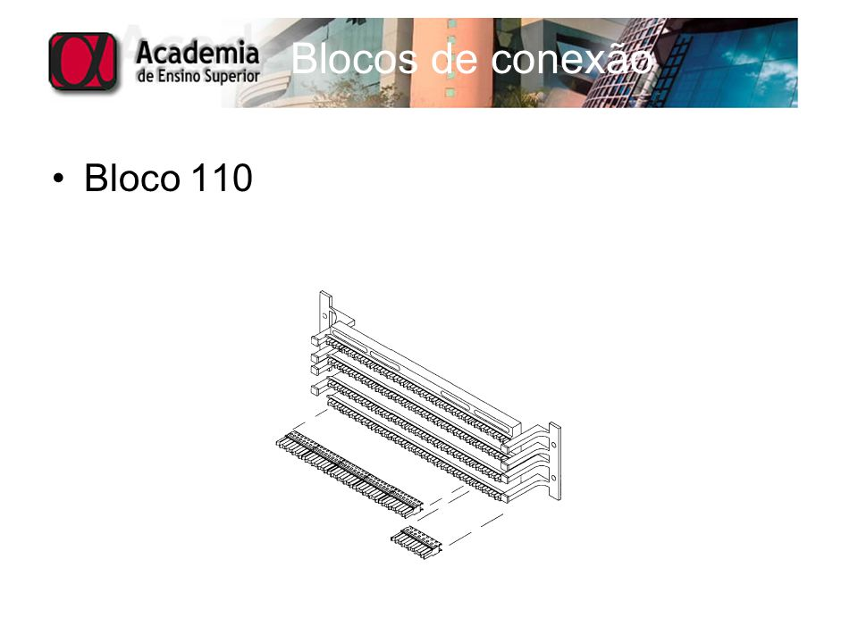 Blocos de conexão Bloco 110
