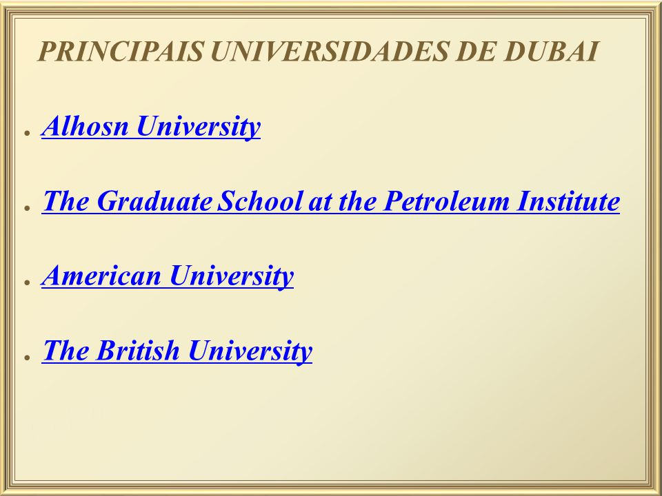 . The Graduate School at the Petroleum Institute . American University