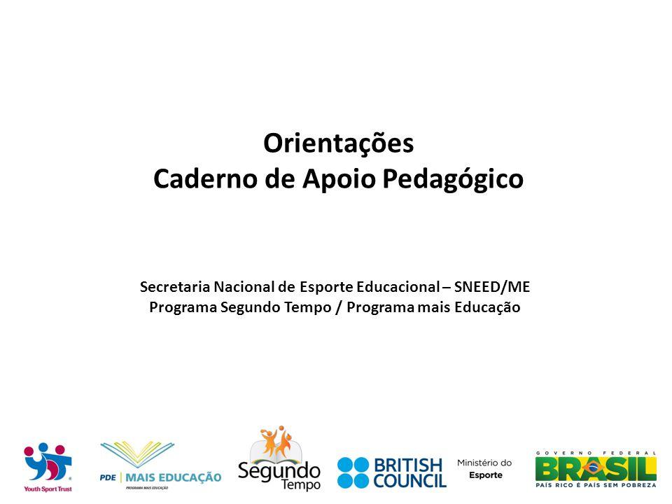 Orientações Caderno de Apoio Pedagógico