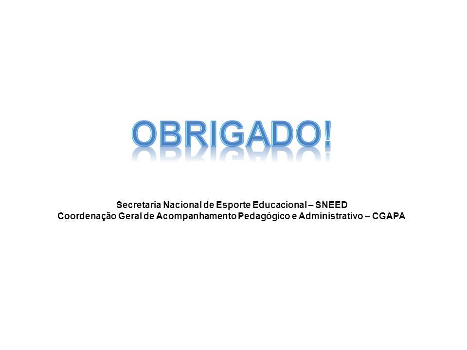 Secretaria Nacional de Esporte Educacional – SNEED