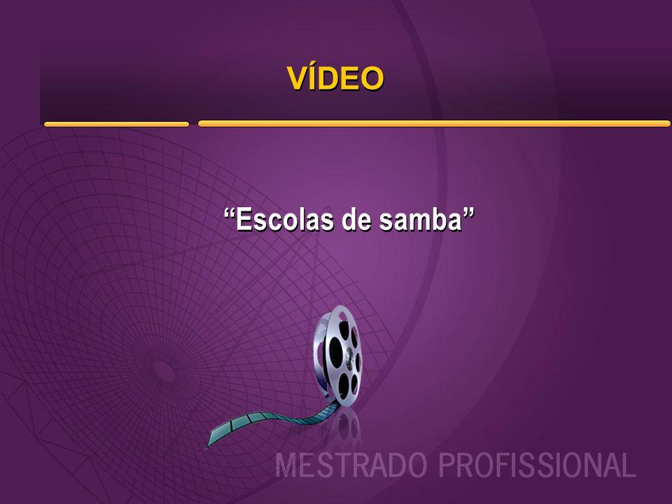 VÍDEO Escolas de samba