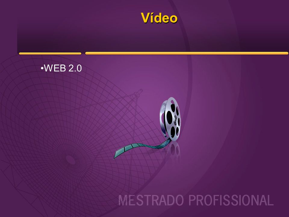 Vídeo WEB 2.0