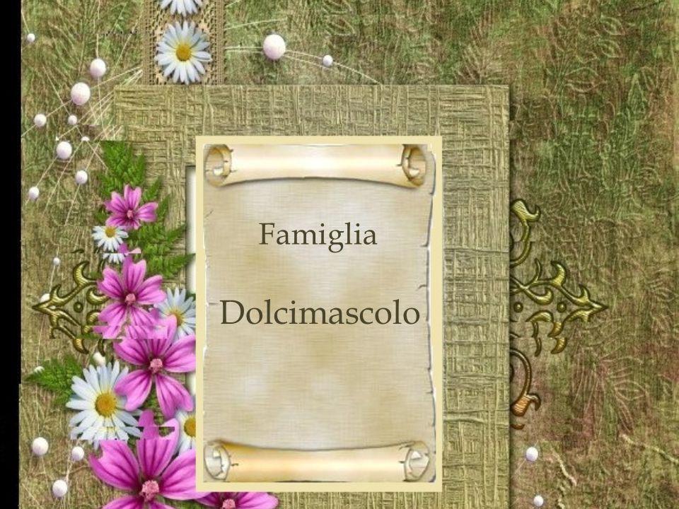 Famiglia Dolcimascolo