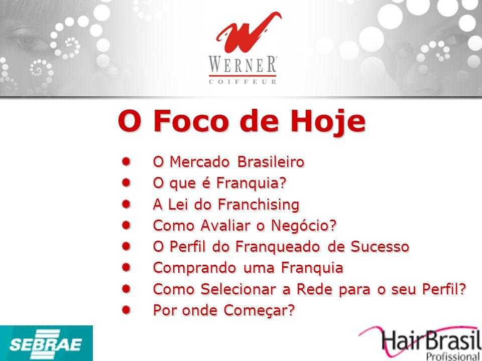 O Foco de Hoje O Mercado Brasileiro O que é Franquia