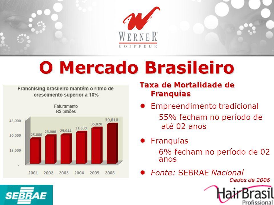 O Mercado Brasileiro Empreendimento tradicional