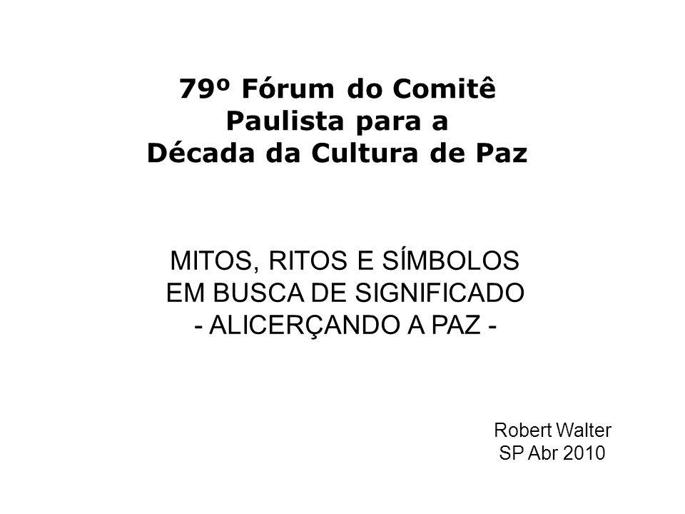 79º Fórum do Comitê Paulista para a Década da Cultura de Paz