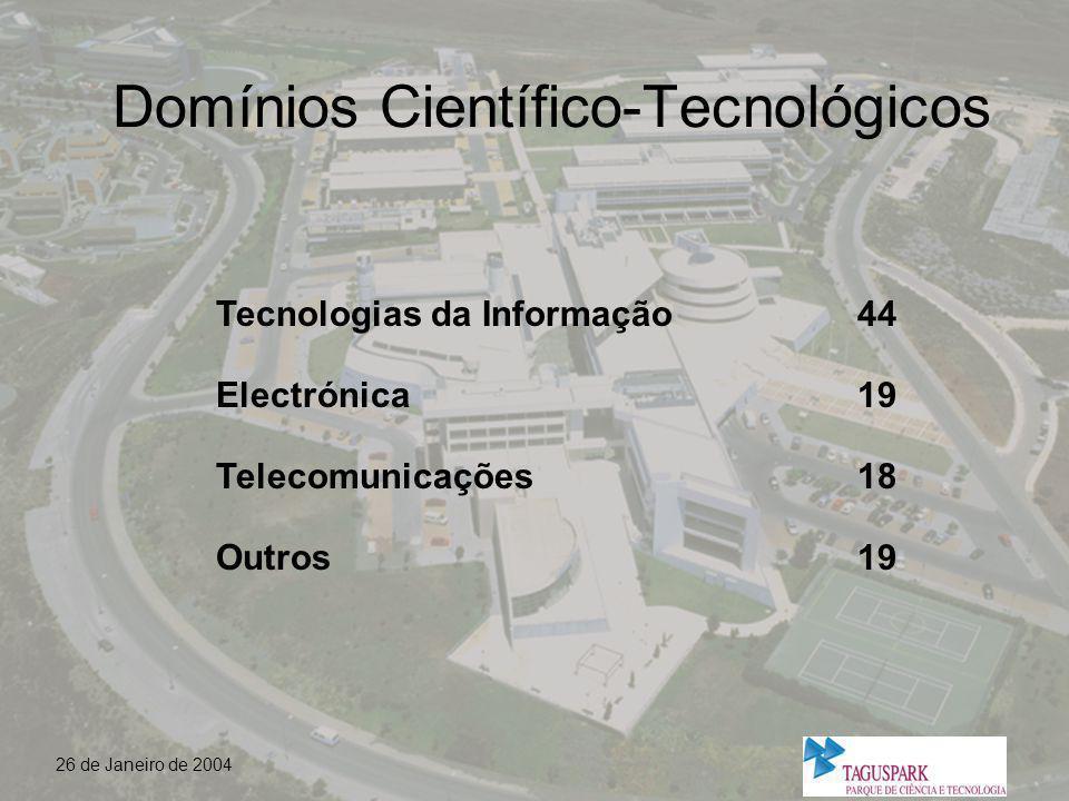 Domínios Científico-Tecnológicos