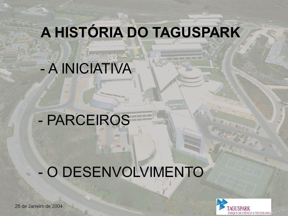 A HISTÓRIA DO TAGUSPARK