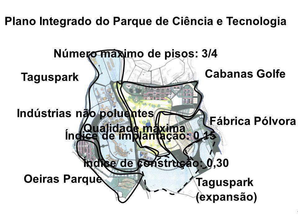 Plano Integrado do Parque de Ciência e Tecnologia