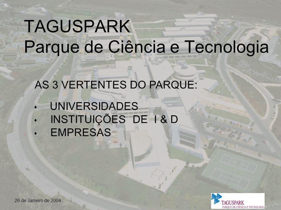 TAGUSPARK Parque de Ciência e Tecnologia