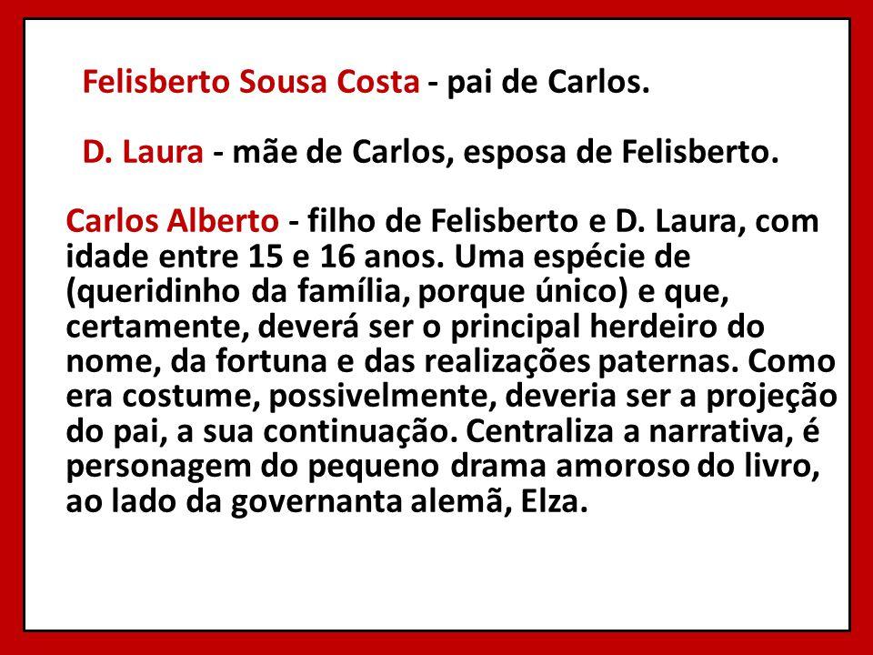 Felisberto Sousa Costa - pai de Carlos. D
