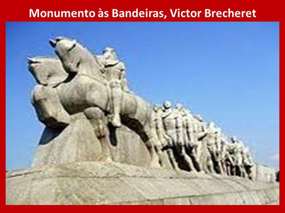 Monumento às Bandeiras, Victor Brecheret