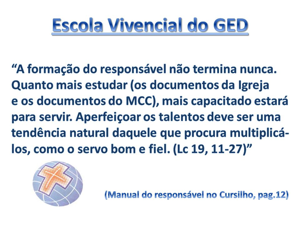 Escola Vivencial do GED