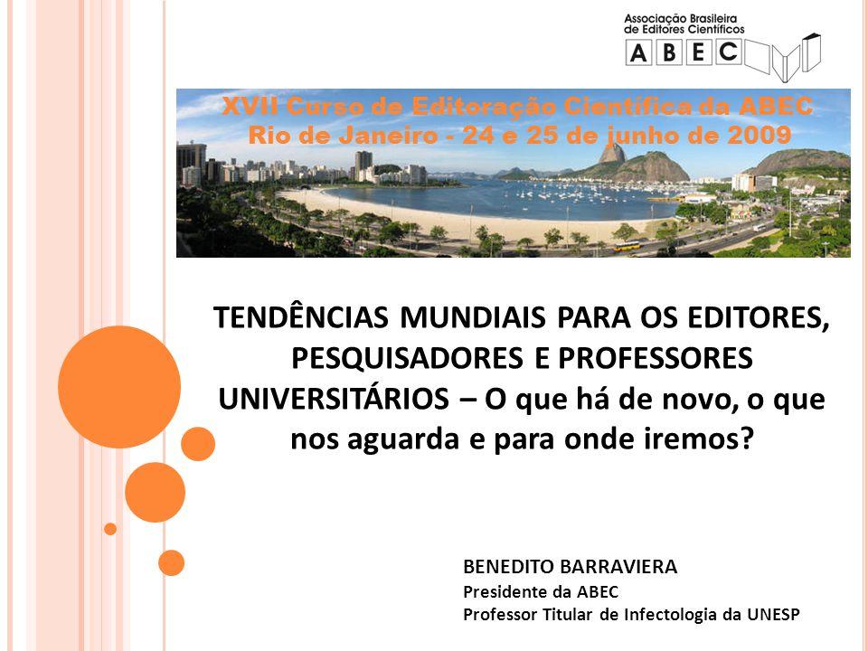 XVII Curso de Editoração Científica da ABEC