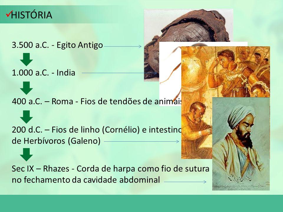 HISTÓRIA 3.500 a.C. - Egito Antigo 1.000 a.C. - India