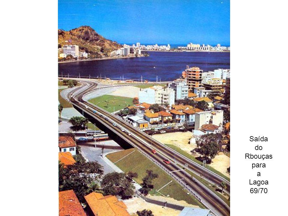 Saída do Rbouças para a Lagoa 69/70