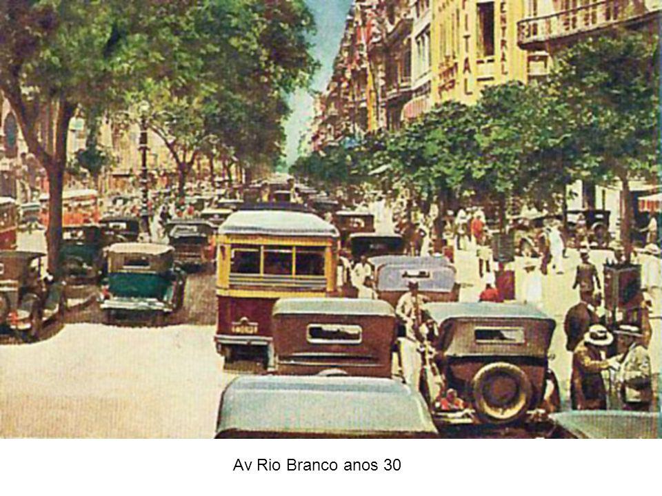 Av Rio Branco anos 30