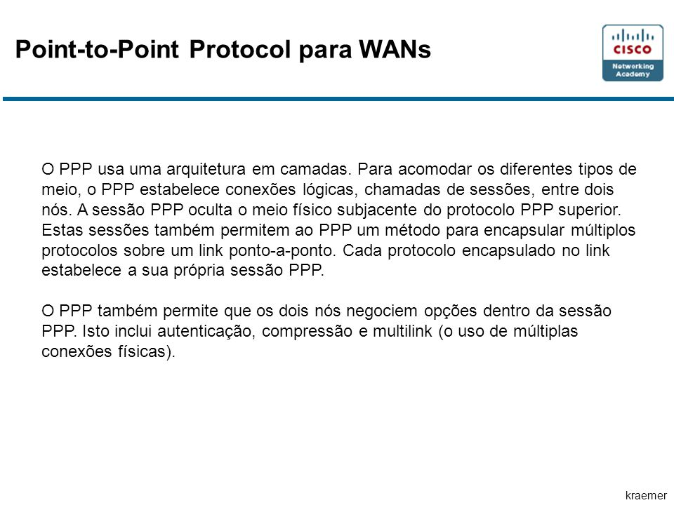 Point-to-Point Protocol para WANs