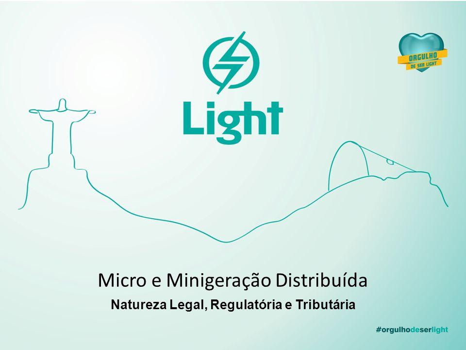 Natureza Legal, Regulatória e Tributária