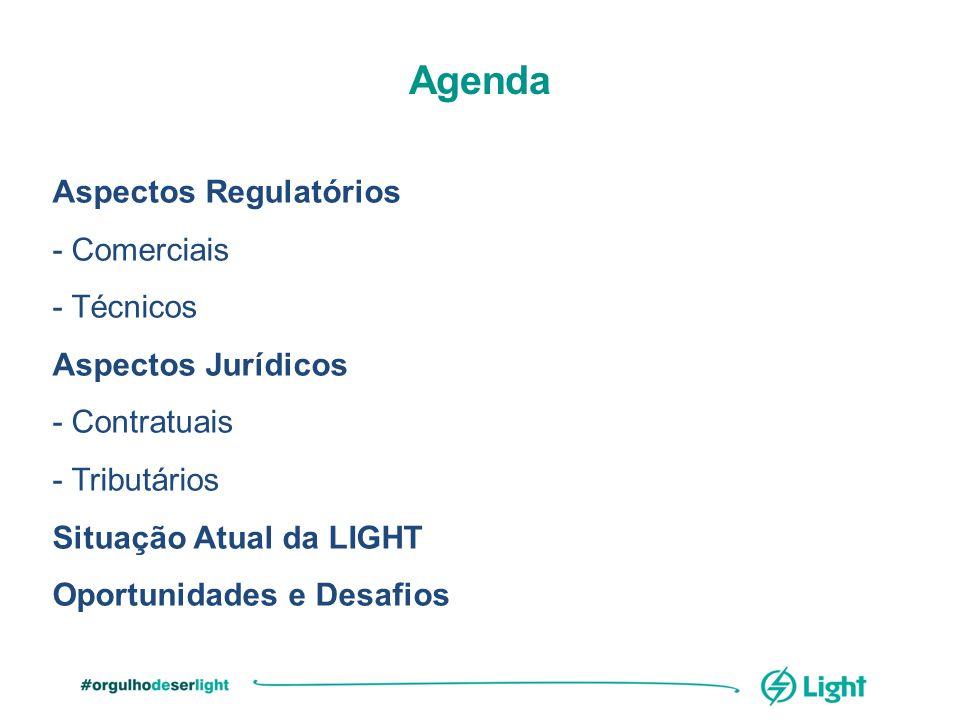 Agenda Aspectos Regulatórios - Comerciais - Técnicos
