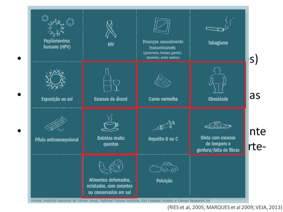 Neoplasia Crescimento celular descontrolado (tumores)