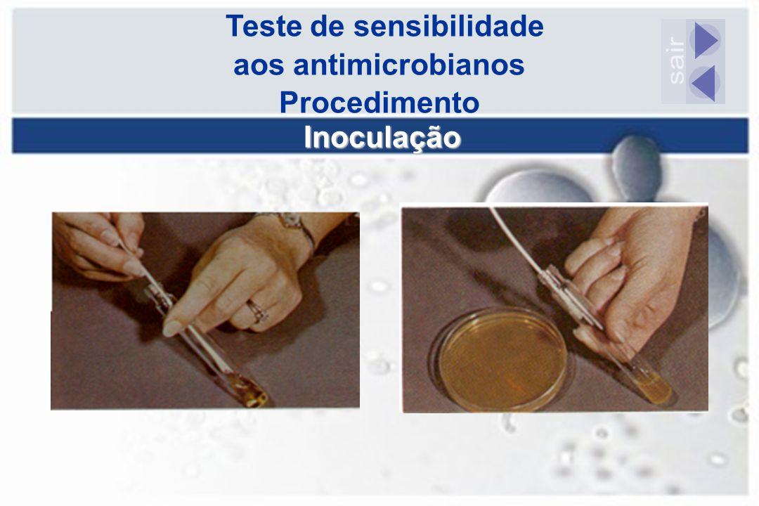 Teste de sensibilidade aos antimicrobianos