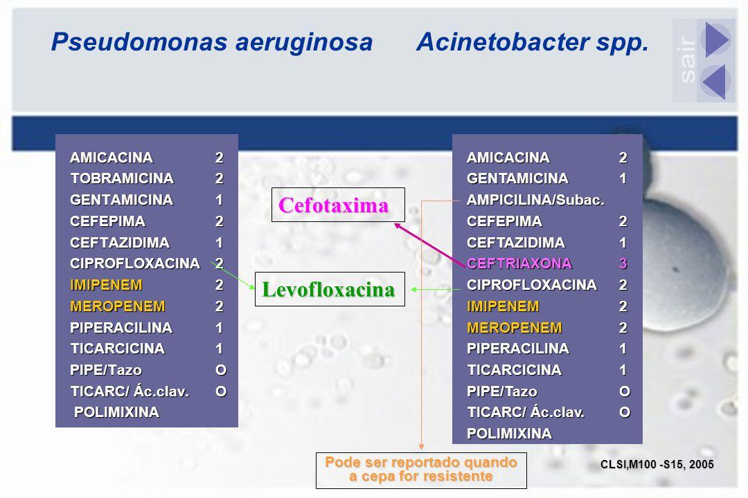 Pseudomonas aeruginosa Acinetobacter spp.