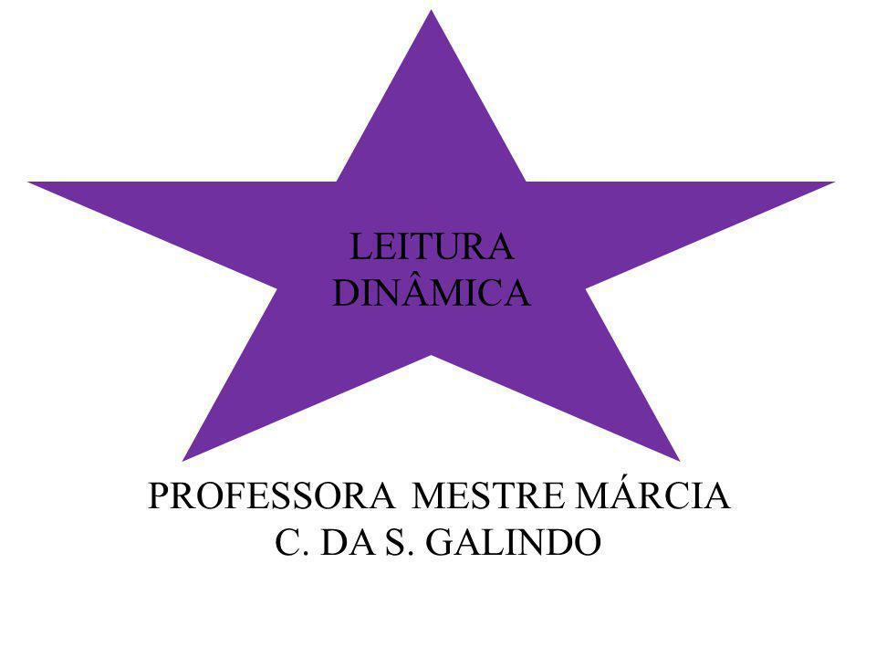 PROFESSORA MESTRE MÁRCIA C. DA S. GALINDO