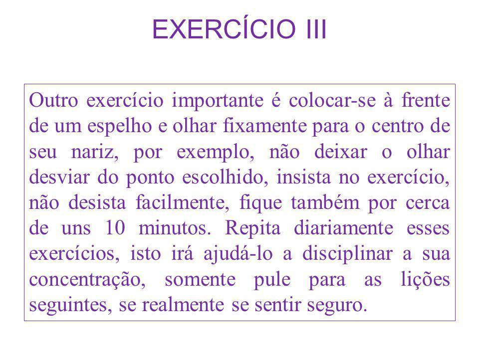 EXERCÍCIO III