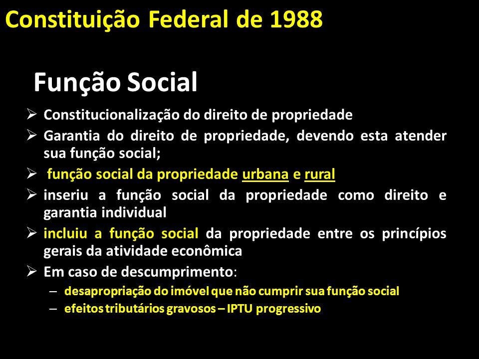 Função Social Constituição Federal de 1988
