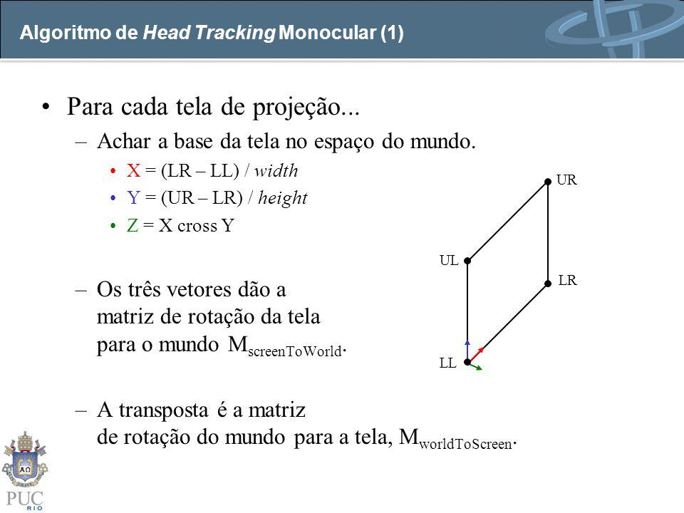 Algoritmo de Head Tracking Monocular (1)