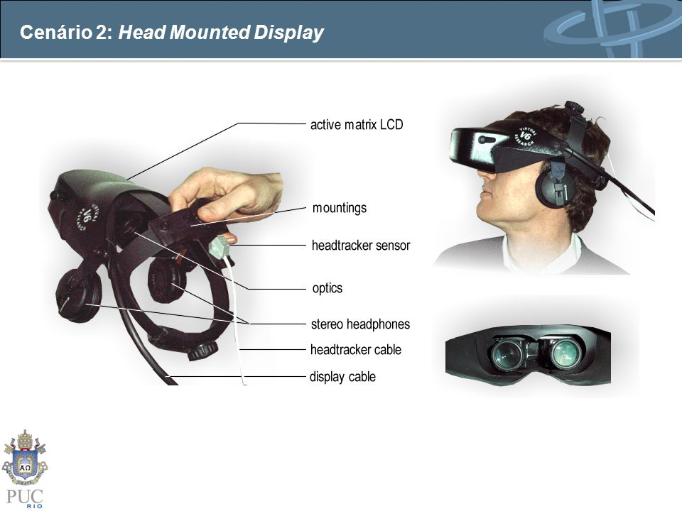 Cenário 2: Head Mounted Display