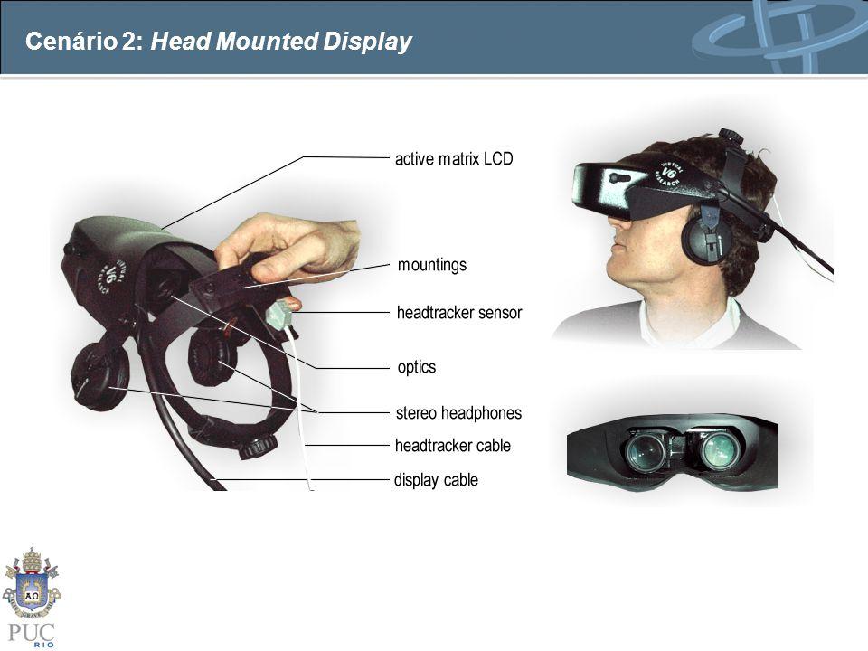 Cenário 2: Head Mounted Display