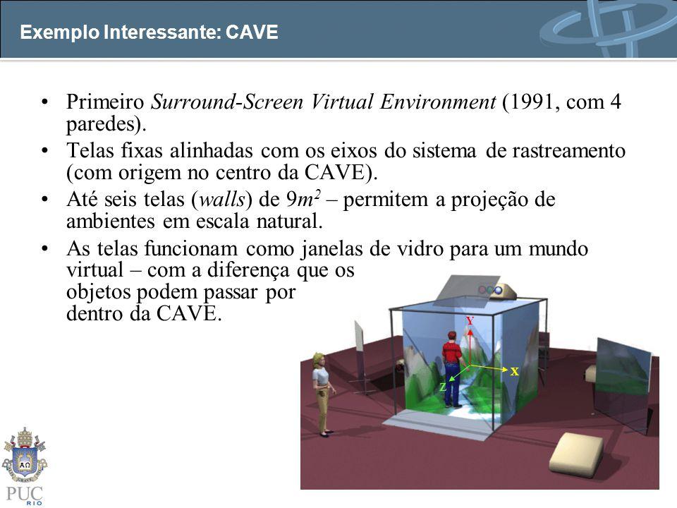 Exemplo Interessante: CAVE