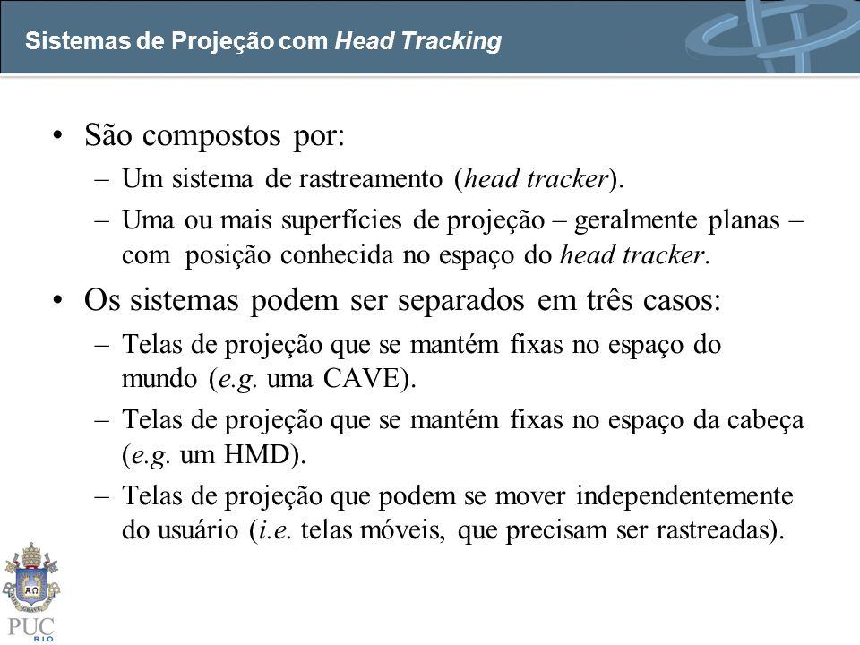Sistemas de Projeção com Head Tracking