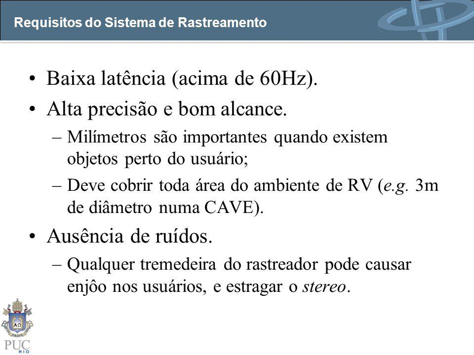 Requisitos do Sistema de Rastreamento